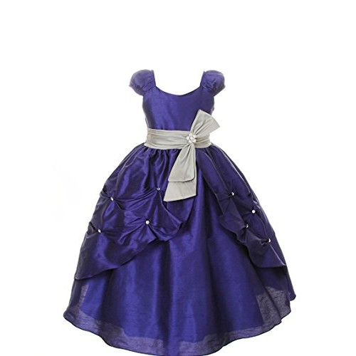 Pink Wings Girls Party Wear Gown