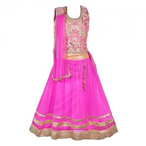 My Lil Princess Girls' Net Lehenga Choli