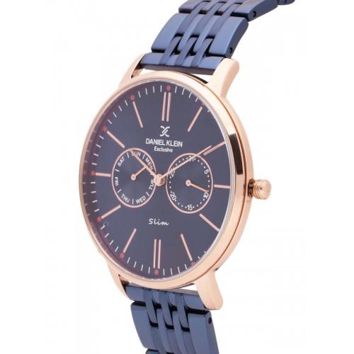Daniel Klein Exclusive Slim Men Navy Multifunction Watch DK11313-2