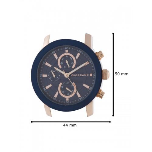 GIORDANO Men Navy Blue Multifunction Analogue Watch 1886-05