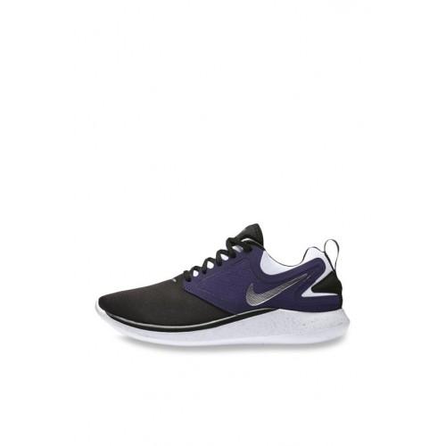 Buy Nike Nike Lunarsolo Black   Purple Running Shoes online ... e54d12ff3