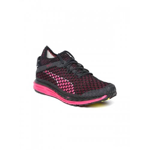 Buy Puma Women Black Speed Ignite Netfit Running Shoes online ... 83ce163e6