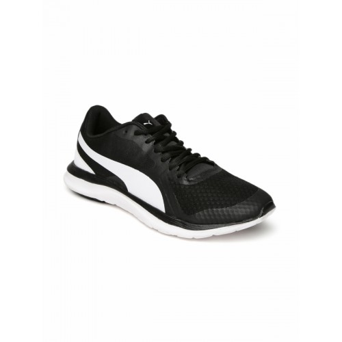 47595a08552 Buy Puma Unisex Black FlexT1 Running Shoes online