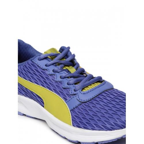 Buy Puma Fabian Blue Running Shoes online  6c8f58b85