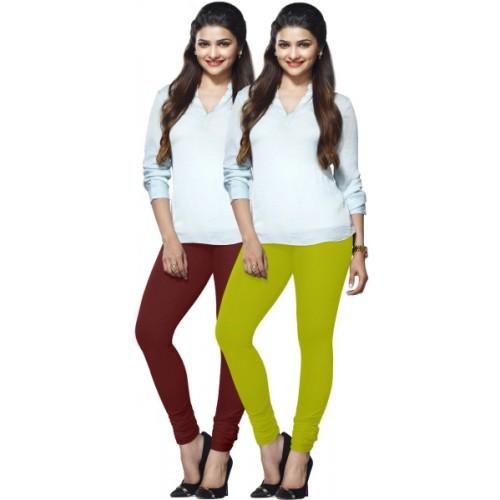 Lux Lyra Women's Leggings-Pack of 2