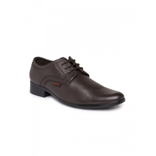 Red Chief Brown Leather Formal Shoes
