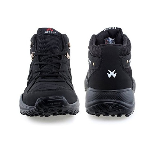 Freedom Daisy Black Mesh Sports Shoes