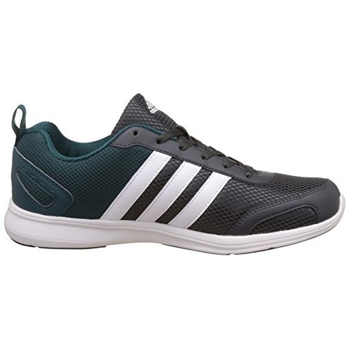 Adidas Gray & Teal Astrolite M Lace Up Running Shoes