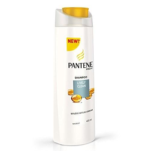 Pantene Lively Clean Shampoo, 400ml