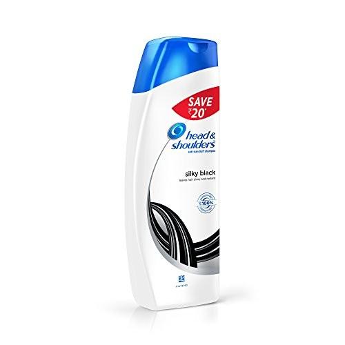 Head & Shoulders Silky Black Shampoo, 180ml