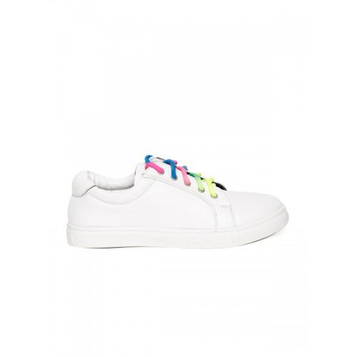 Bruno Manetti White Casual Sneakers