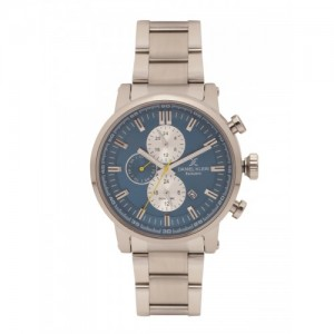 Daniel Klein Men Teal Blue Multifunction Watch DK11558-6