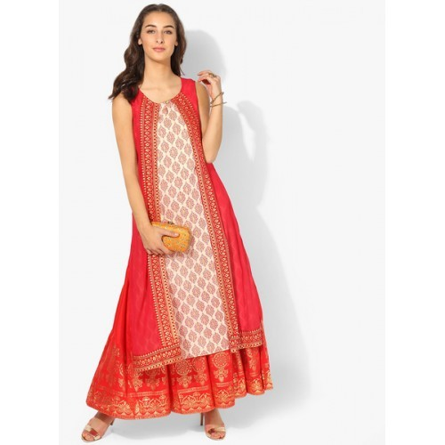 db2ee20d3f6 Buy Rangmanch By Pantaloons Red Printed Kurta online