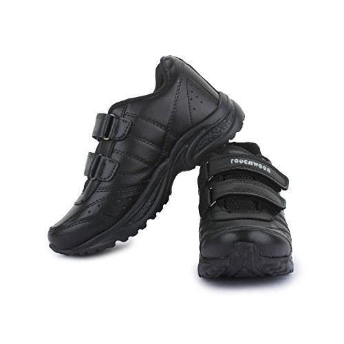 Touchwood Kids Black SuperLight EVA School Shoes for Boys and Girls