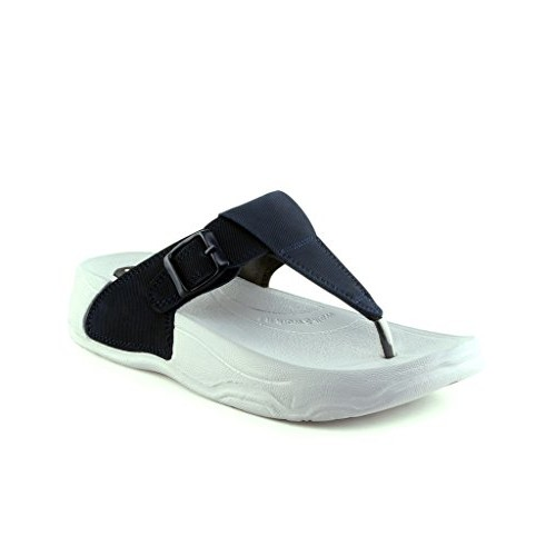 Pure-Hf-26 White Synthetic Flats Chappals