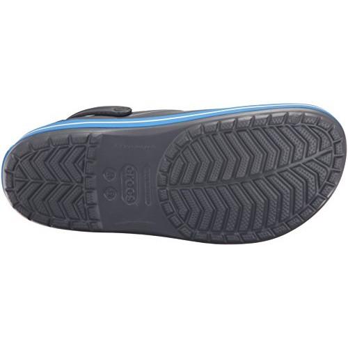 Crocs Navy Blue Croslite Unisex Crocband Clogs