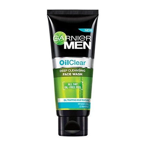 Garnier Men Oil Clear Face Wash, 100g