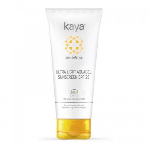 Kaya Ultra Light Aquagel Sunscreen Spf 25