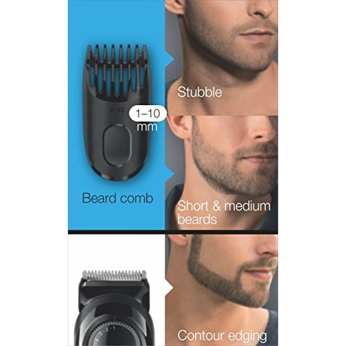 Braun BT3020 Beard Trimmer for Men (Black)