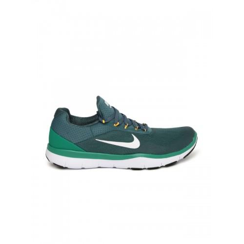 2662c0ae28fba Buy Nike Men s Teal Green FREE TRAINER V7 Training Shoes online ...