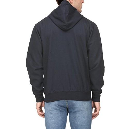 Scott Men's Navy Blue Premium Rich Cotton Pullover Hoodie Sweatshirt