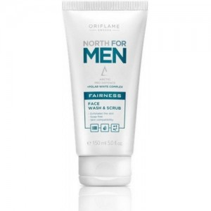 Oriflame North For Men Active Fairness Face Wash, 150ml