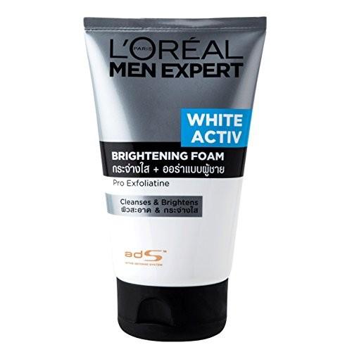 L'Oreal Paris Men Expert White Activ Brightening Foam ,100ml