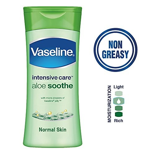 Vaseline Intensive Care Aloe Soothe Body Lotion, 200 ml