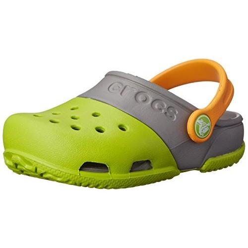 Crocs Electro II Girls Clog in Green