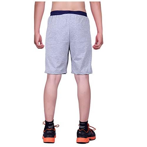 DFH Gray Cotton Shorts