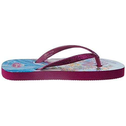 Disney Girl's Vinyl Flip-Flops and House Slippers