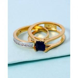 Voylla Double Designer Ring For Women 1