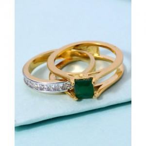 Voylla Ring In Dual Design For Women