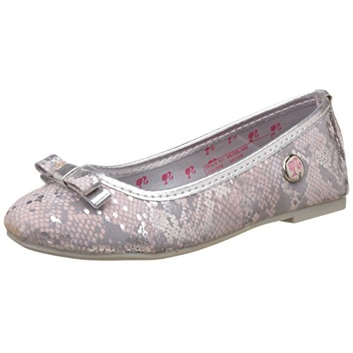 Barbie Silver Synthetic Girl's Espadrille Flats