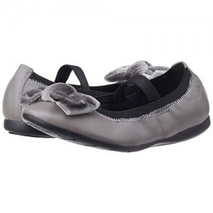 Clarks Girl's Dancevelvet Mary Jane Flats