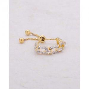 Voylla Cz Embellished Ring