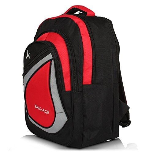 ... bag age y large polyester 30 l school backpack red ... 2e76130c342f1