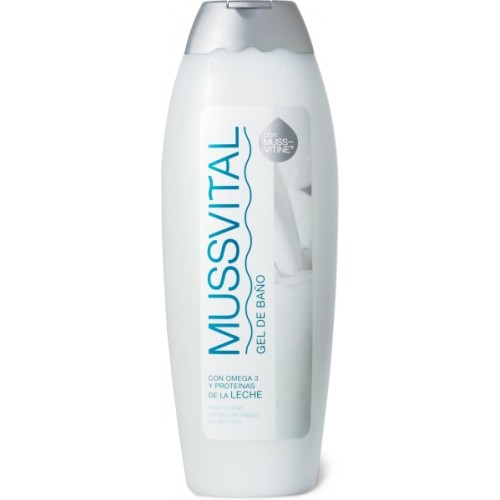 Mussvital Milk Shower Gel With Omega 3 Effect