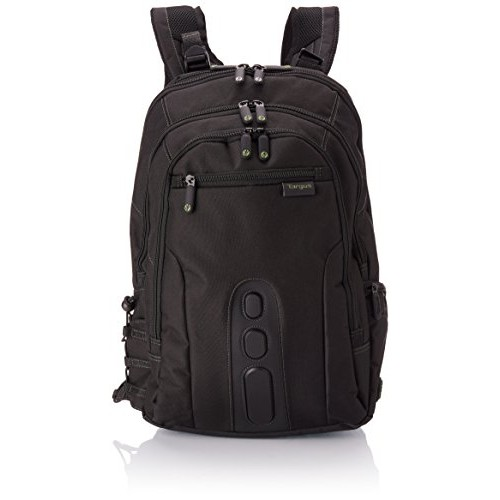 Targus TBB013AP-71 Spruce Ecosmart 15.6-inch Backpack Made from Recycled Material (Black)