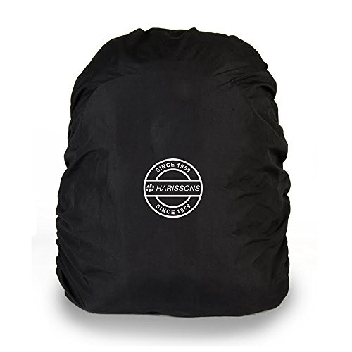 Harissons Raincover DX Black Waterproof Backpack Protector