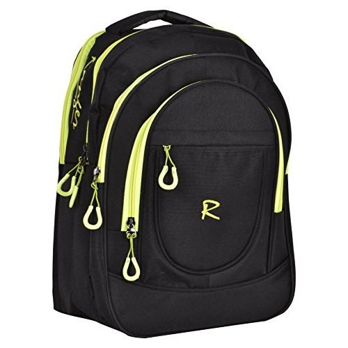 Ranger Black Polyster 40 Liters School Bag