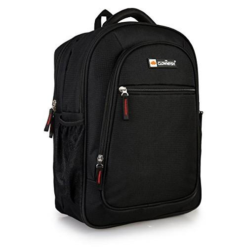 The Clownfish 25 Ltrs Black Laptop Bag / Travel Backpack / School Bag