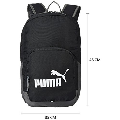 Puma Black Casual Backpack (7358901)
