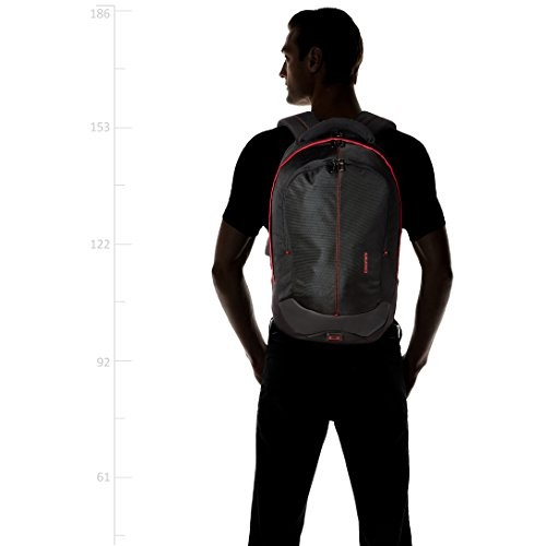 Gear Outlander 36 ltrs Black and Red Casual Backpack (LBPOTLNR30109)