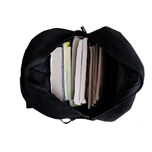 Auxter 15L Black Casual Backpack