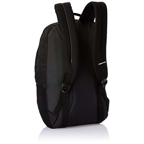Gear 25 ltrs Black and Black Casual Backpack (BKPCMPUS20101)