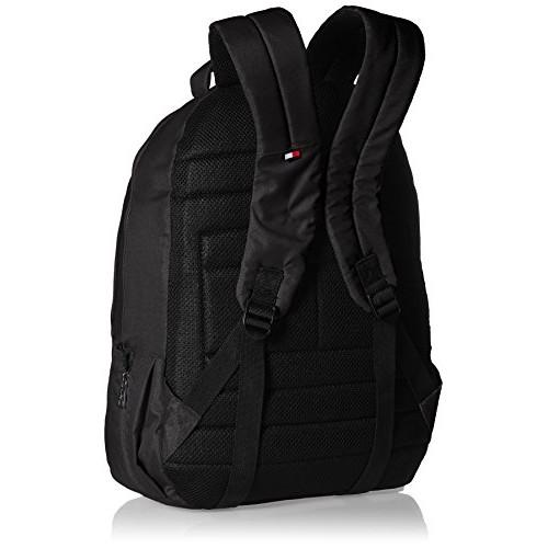 Tommy Hilfiger Biker Club - Coral 26 ltrs Black Casual Backpack (TH/BIKOL01COR)