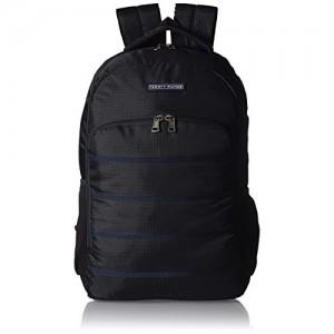 Tommy Hilfiger Biker Club - Colorado 23.8 ltrs Black Casual Backpack (TH/BIKOL01COL)