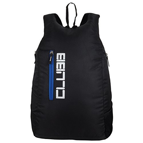 Clubb Canter 10 Ltrs Black And Blue Casual Backpack