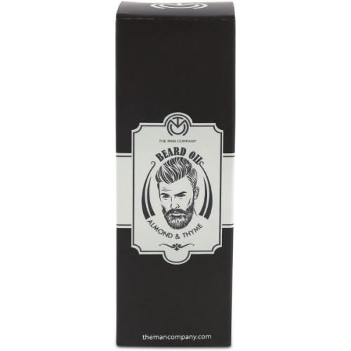 The Man Company Beard Oil - Almond and Thyme Hair Oil
